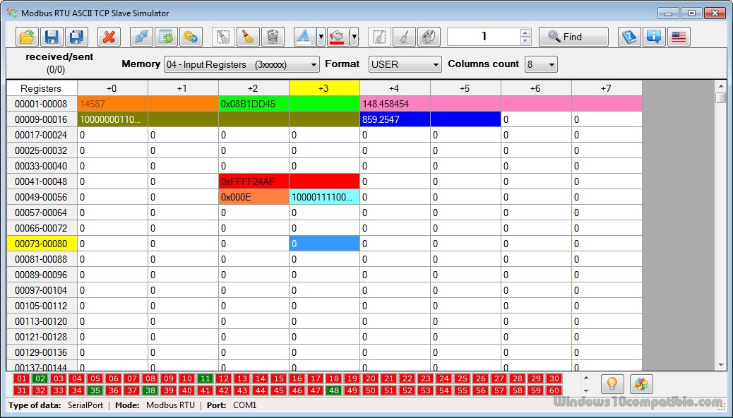 Modbusview tcp software:: software:: modbus-bacnet products.